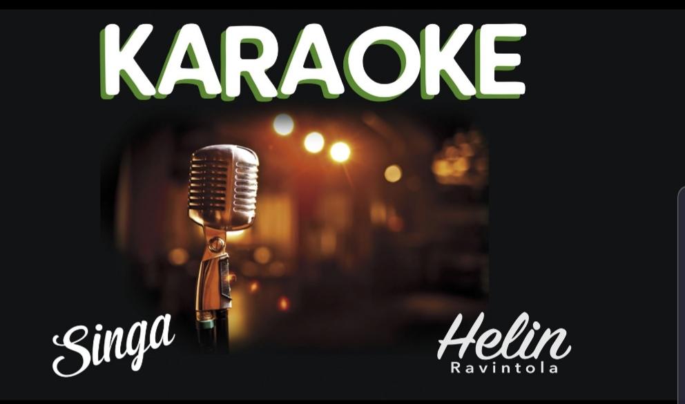 Heinolan KARAOKEMESTARI 2019 14.09.19 Tule harjoittelemaan lauantain kilpailua varten TIISTAI-TORSTAI Klo 19-01 Helin ravintola